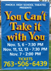 Anoka HS - You Can't Take It With You - Banner